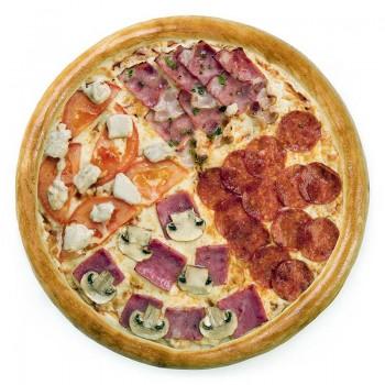 Пицца 4 вкуса